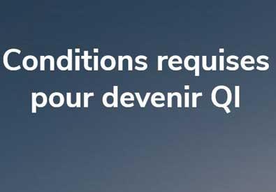 Conditions requises pour devenir QI: image en évidence