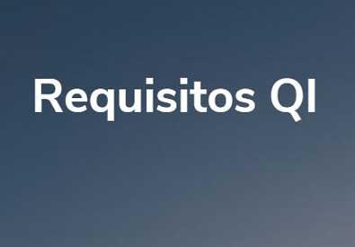 Requisitos para convertirse en un QI: artículo foto
