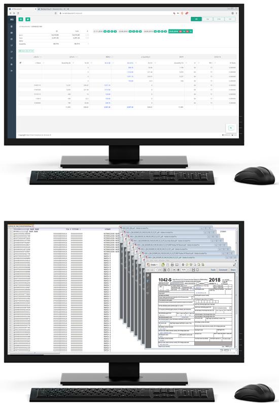 Tool QI Reporting visualizzazioni desktop
