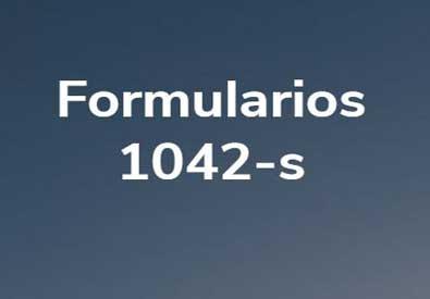 Formularios 1042-s: artículo foto