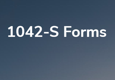 1042-S Forms | Photo in evidence