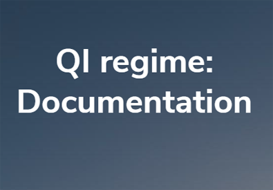 QI regime: collection of customers' documentation | Photo in evidence