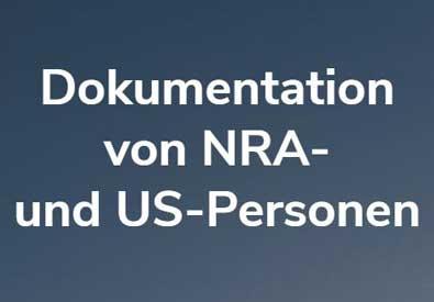 Dokumentation von NRA- und US-Personen | Foto im Beweis