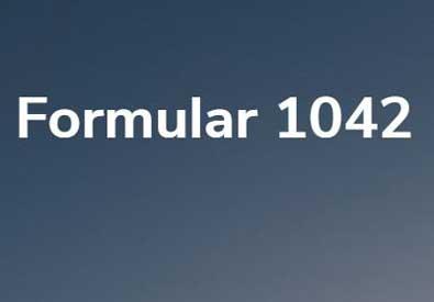 Formular 1042 | Foto im Beweis