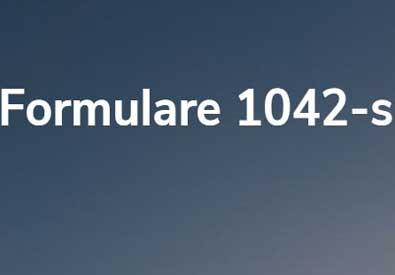 Formulare 1042-s | Foto im Beweis
