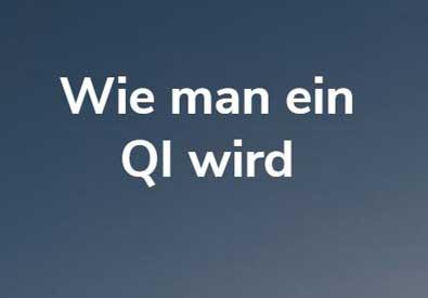 Wie man ein QI wird | Foto im Beweis